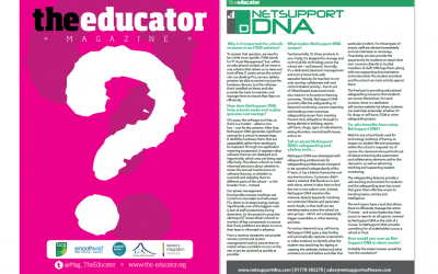 NetSupport features in The Educator Magazine