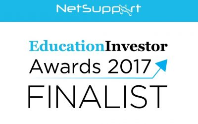 NetSupport announced as a finalist in the Education Investor Awards