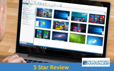 NetSupport Manager gains a 5 out of 5 star rating in IT PRO!