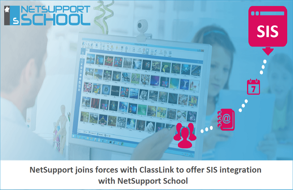 NetSupport joins forces with ClassLink to offer SIS integration with NetSupport School