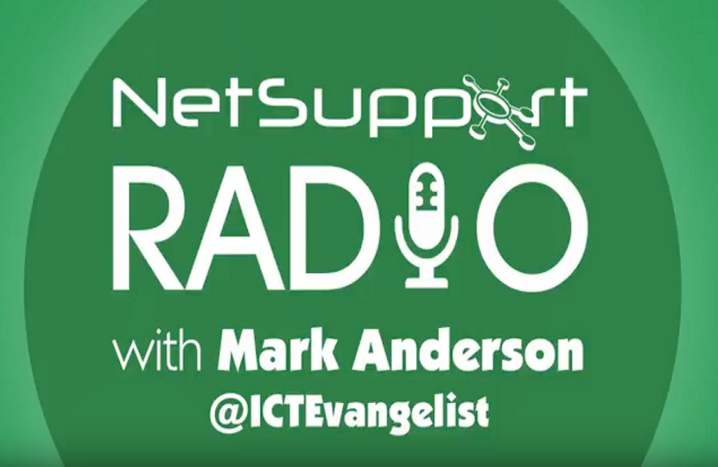 Mark Anderson discusses all things edtech on NetSupport Radio