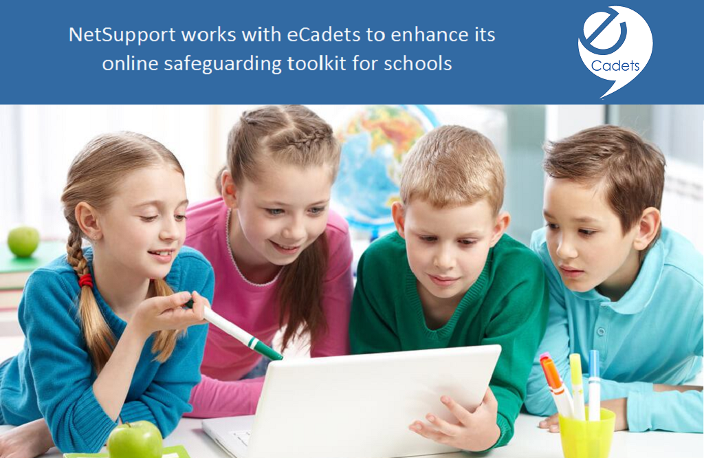 NetSupport works with eCadets to enhance its online safeguarding toolkit for schools.