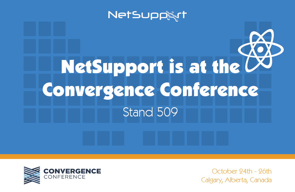 Visit NetSupport at the Convergence Conference in Calgary