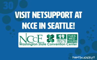 Visit NetSupport at NCCE in Seattle!
