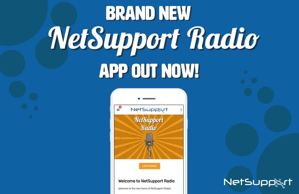 NetSupport launches new radio app!
