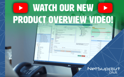 New NetSupport DNA (IT Management and Safeguarding) overview video