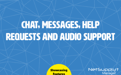 NetSupport Manager's communication tools
