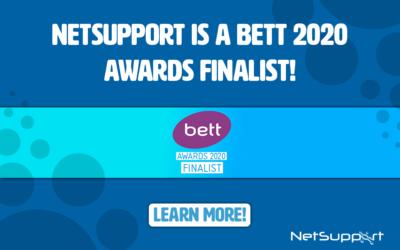 NetSupport is a BETT 2020 awards finalist!