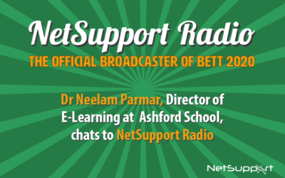 Dr Neelam Parmar features on NetSupport Radio!