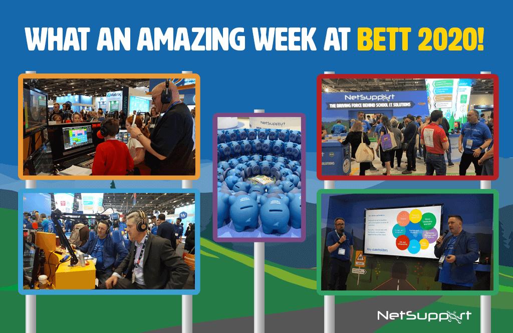 What an amazing week at BETT 2020!