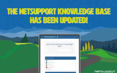 The NetSupport Knowledge Base has been updated