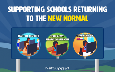 Supporting schools returning to the new normal