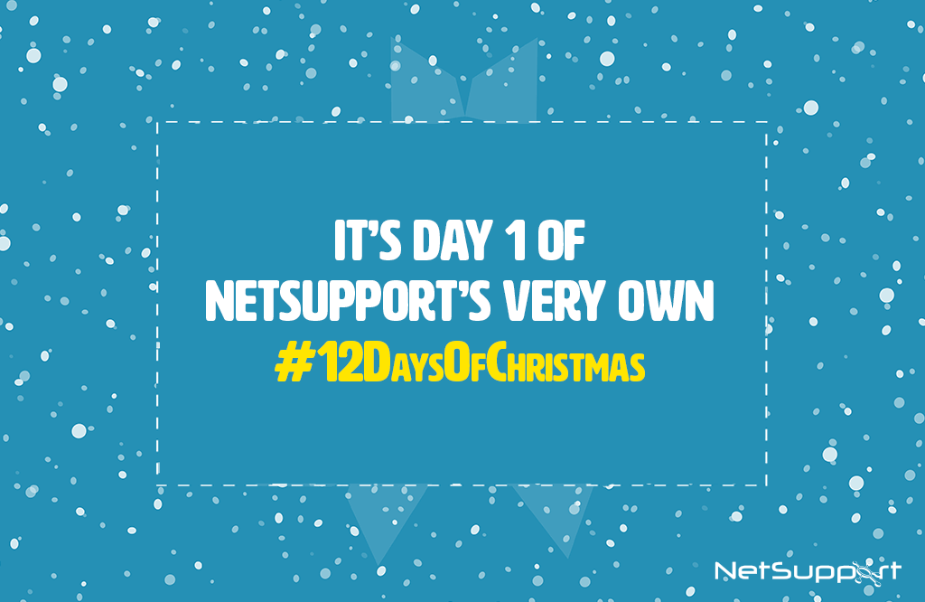 NetSupport's 12 Days of Christmas!