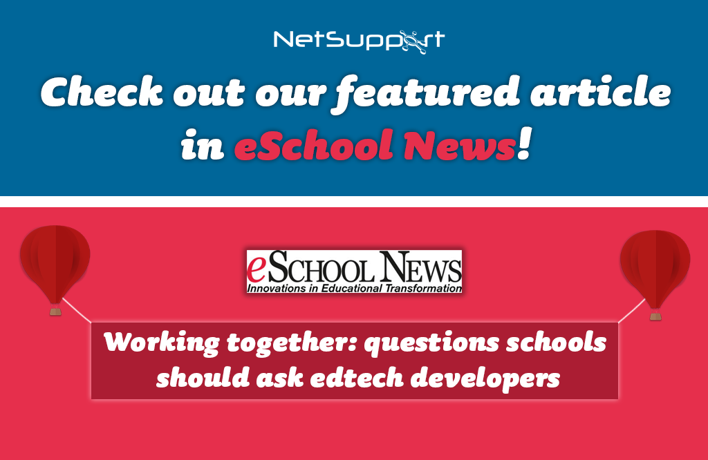 Check out our article featured in eSchool News!