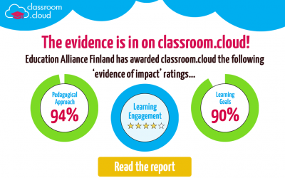 The evidence is in on classroom.cloud!