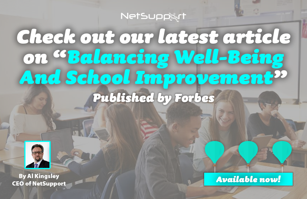 """Check out our latest article on """"Balancing Well-Being and School Improvement"""""""