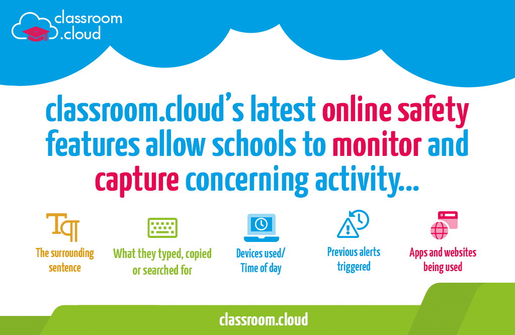 New safeguarding features added to classroom.cloud!