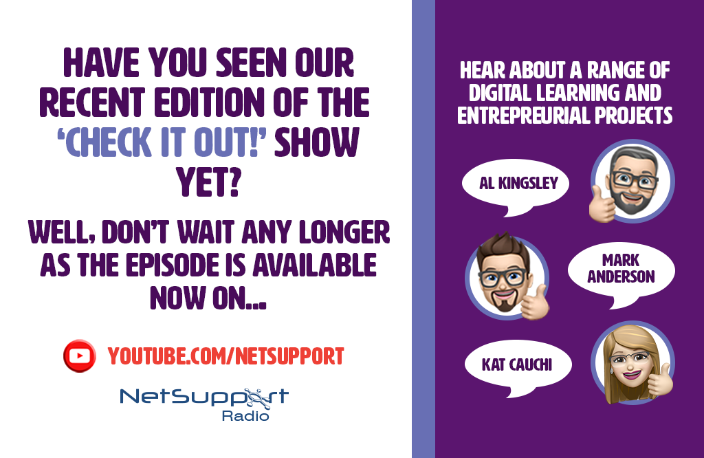 Check out our recent edition of the 'Check it out!' show…