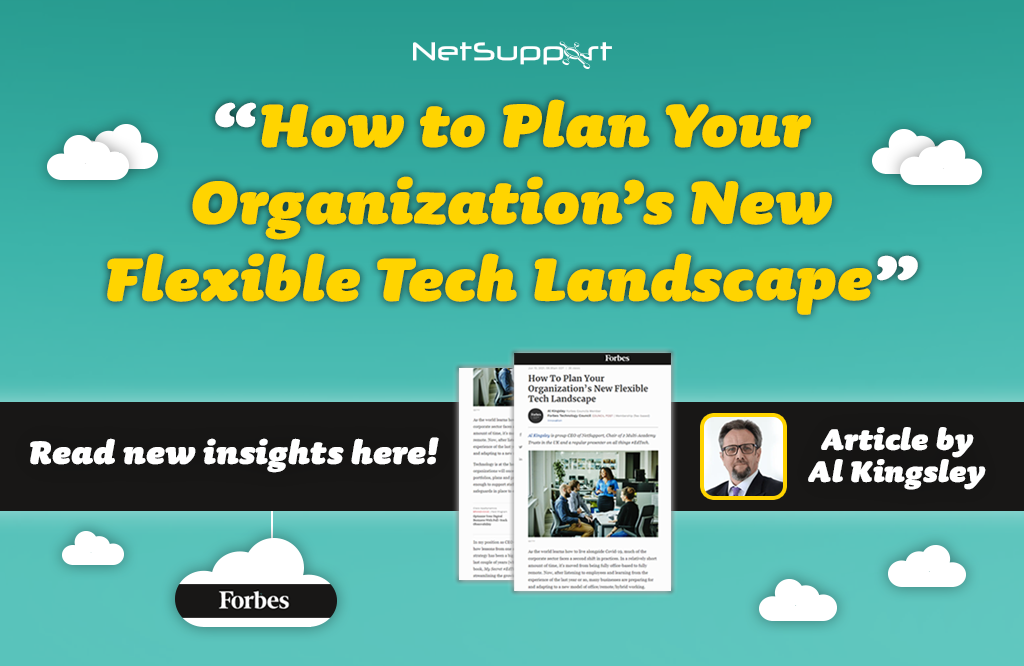 Read our recent article in Forbes to plan a flexible tech landscape!