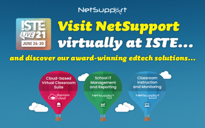 Visit NetSupport virtually at ISTE!