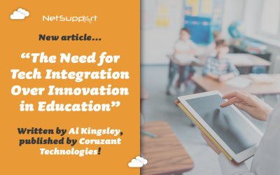 """Read our article """"The Need for Tech Integration Over Innovation in Education""""…"""