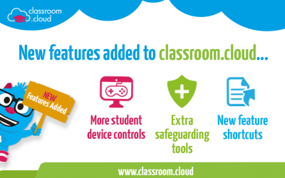 New features added to classroom.cloud