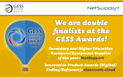 We are double finalists in the GESS Awards!